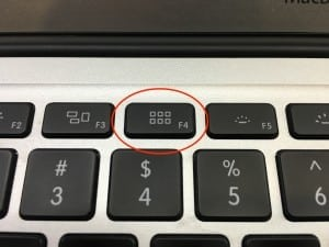 launchpad button